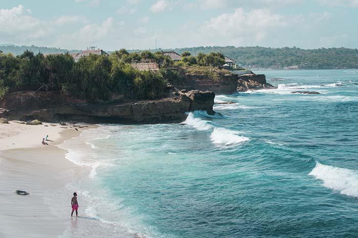 Playa en Nusa Penida