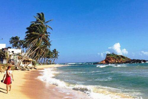 Playas en Sri Lanka