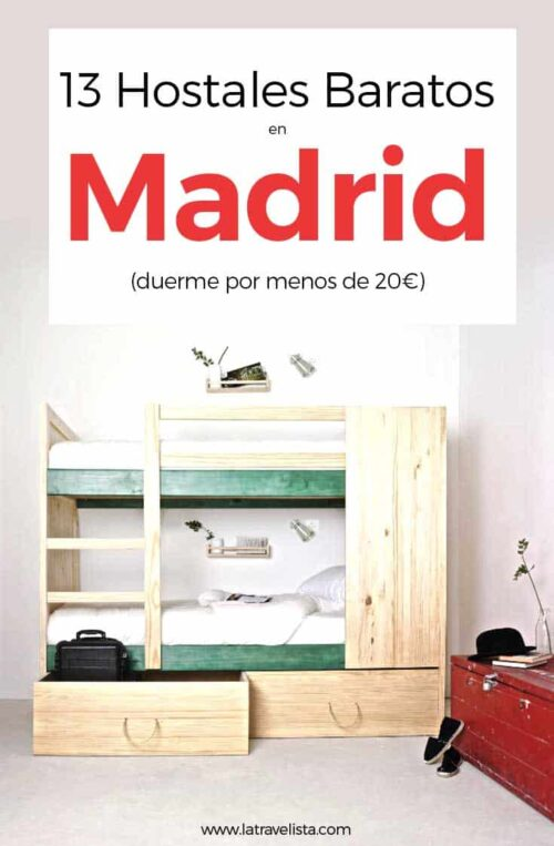 13 Hostales baratos en Madrid, España