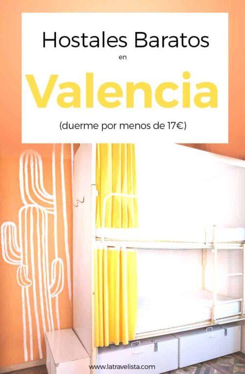 7 Hostales Baratos en Valencia, España