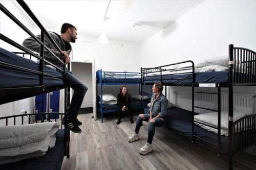 Dormitorios 6 personas en Urbany hostel en Londres