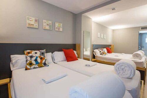 Habitaciones privadas del Yeah-Hostel