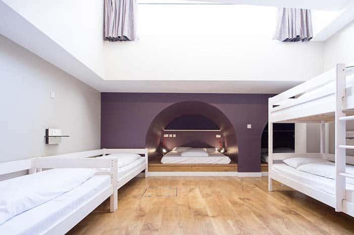 Habitaciones-wombat-hostel en Londres.