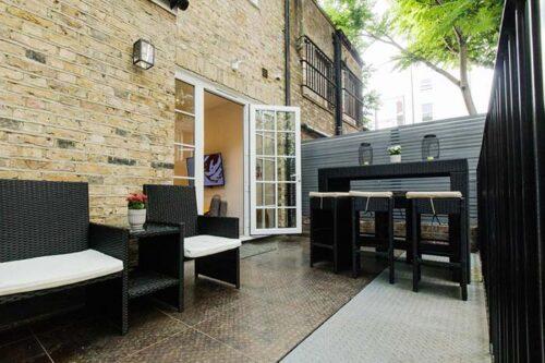 Terraza del Mornington Camden, en Londres