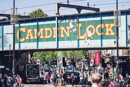 Camden market, lugar a vistar en Londres