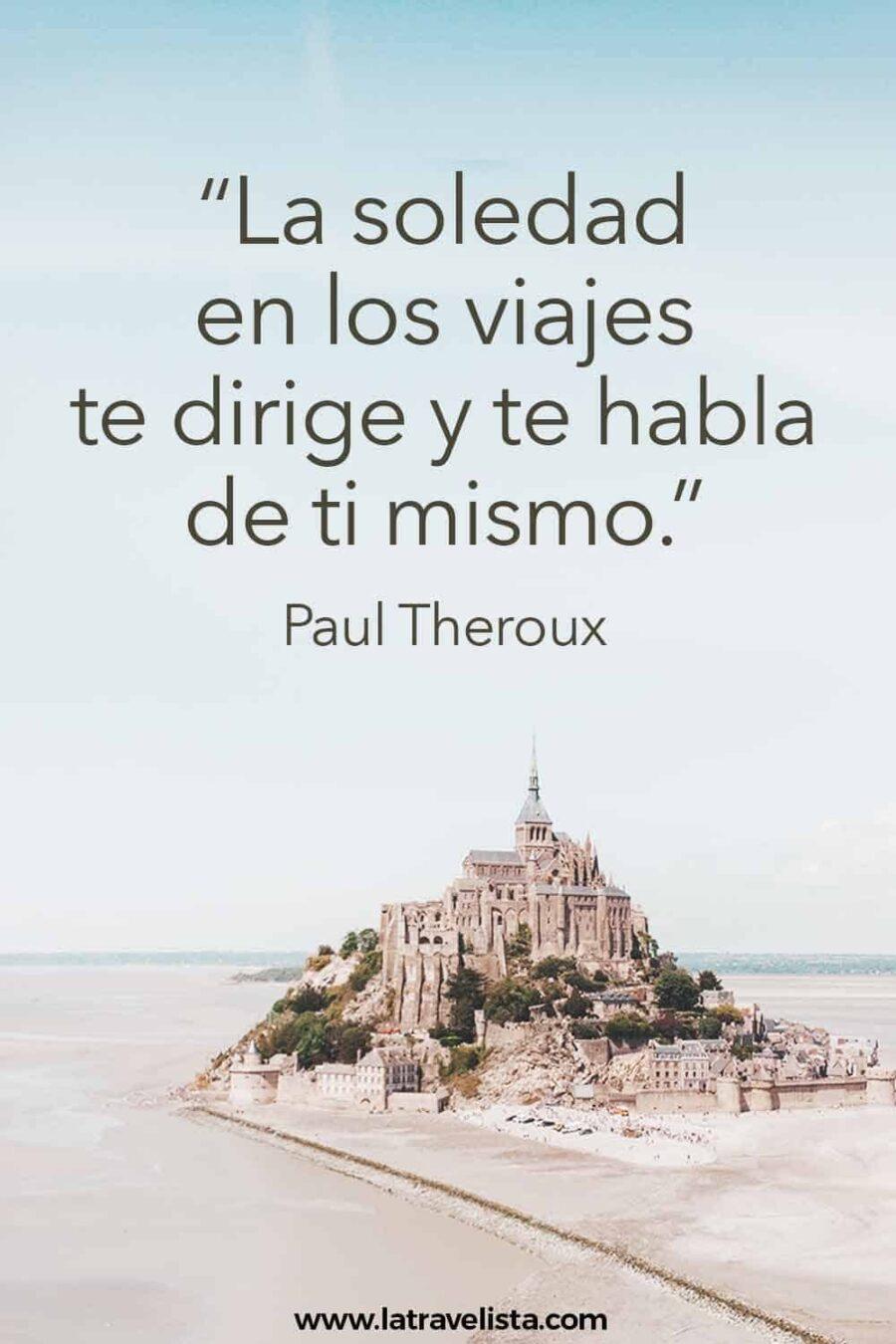 Cita célebre de Paul Theroux
