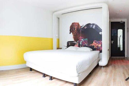 habitacion Qbic hotel