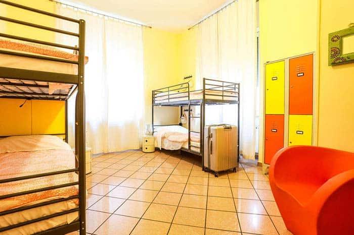 Habitación del hostal Beehive Roma