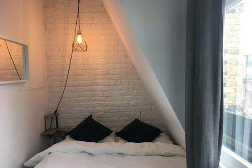 habitacion-privada-The-Dictionary-hostel en Londres.