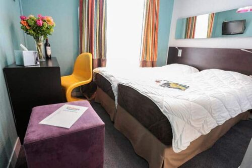 Habitación privada Vintage Paris hostel en Francia.
