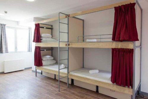 Habitación St Christophers Hostel en París, Francia.