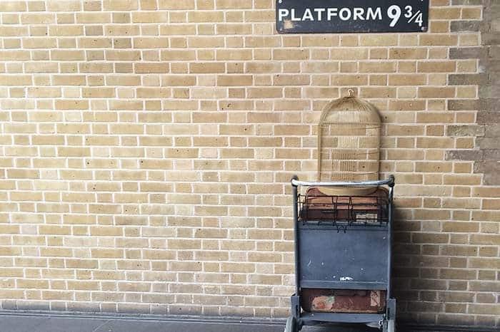 Visita la plataforma de Harry Potter en Londres