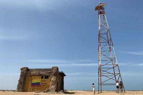 Faro de punta Gallinas