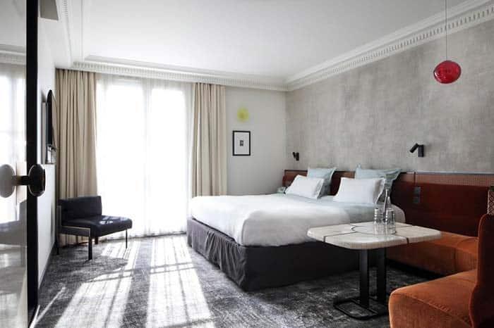 Habitacion del Hotel Les Bains Paris.