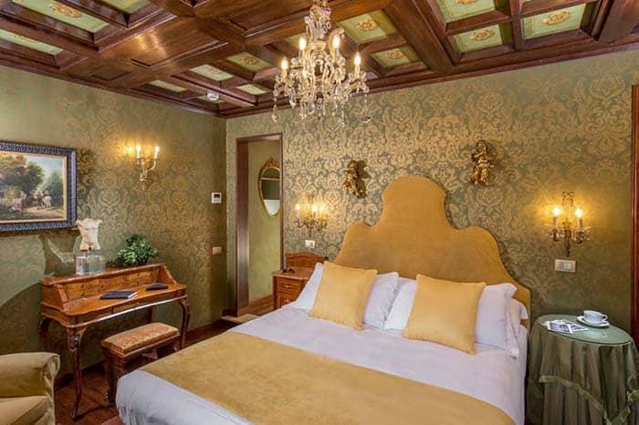 Habitacion de la Boutique Hotel Campo de Fiori.