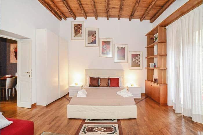 Habitacion del Apartamento Pantheon 2 en Roma.