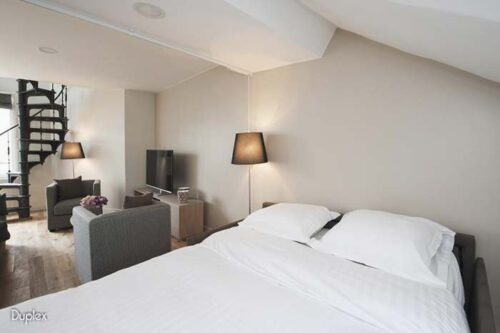 Habitacion del Hotel Milestay Paris.
