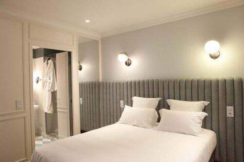 Habitación del Hotel Les Bachaumont
