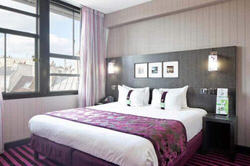 Habitacion del Hotel Holiday Inn Paris Notre Dame.