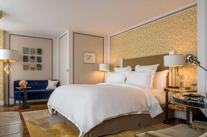 Habitacion privado del Hotel De Crillon.
