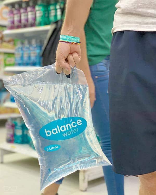 5 Litros de agua en bolsa de plástico