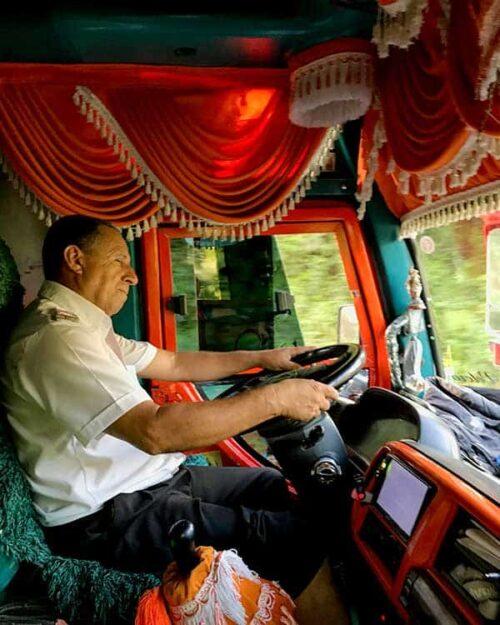 Bus en Colombia