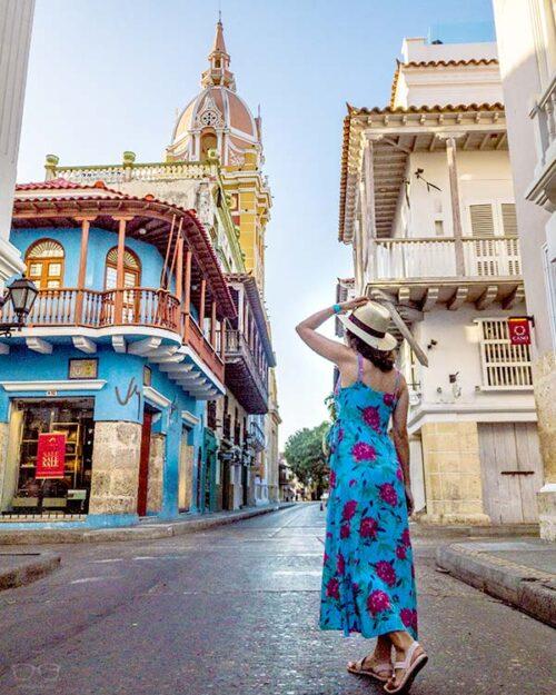 Cartagena de Indias por la mañana temprano