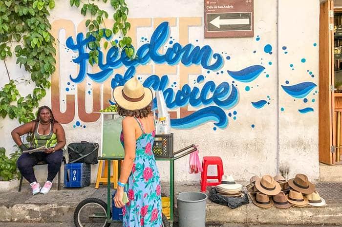 Bonita Cartagena de Indias, Colombia