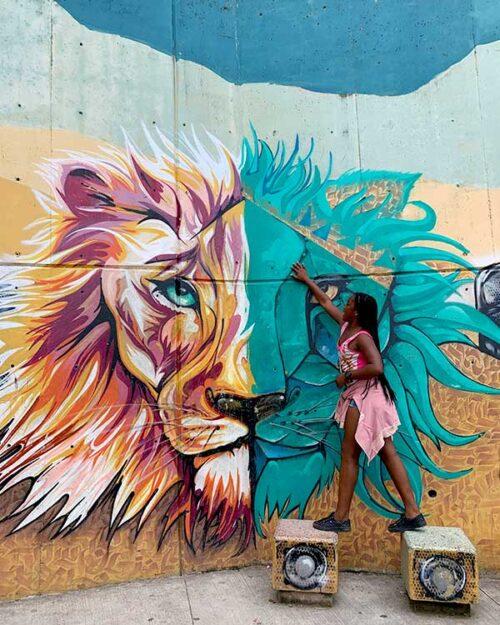 Graffitis en Comuna 13
