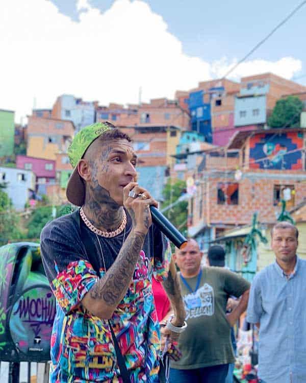 Arte callejero en Comuna 13, Medellín