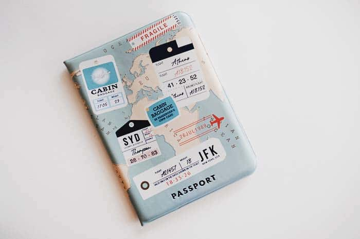 Funda de pasaporte