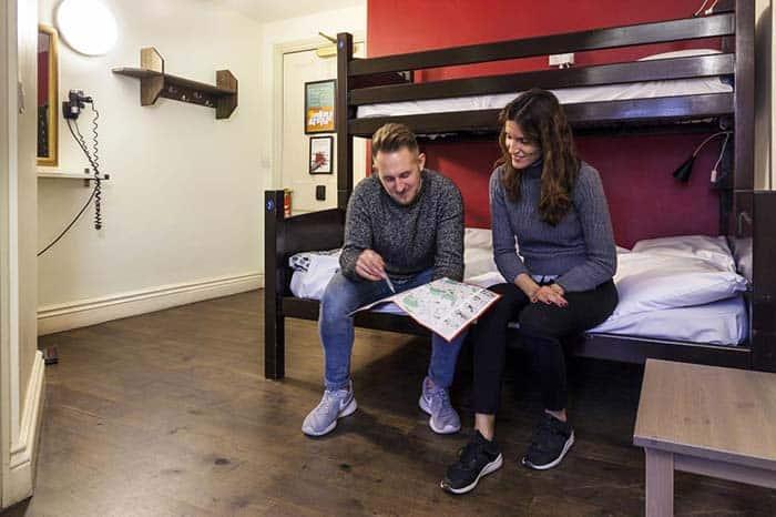 habitacion para grupos hotel palmers lodge londres