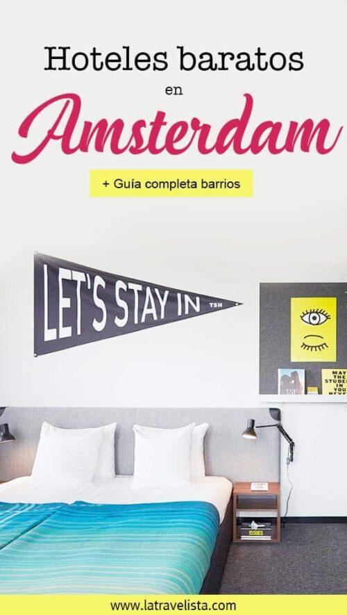 Hoteles baratos en Amsterdam