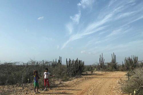 Peaje para ir hacia Punta Gallinas