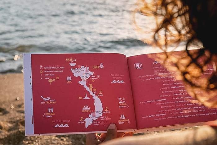 Cuaderno de viaje de Vietnam