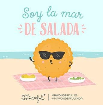 Soy la mar de salada