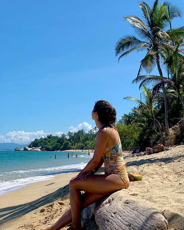 Parque de Tayrona, playa piscinas