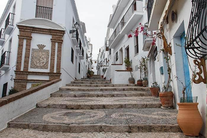 Frigiliana, ciudades bonitas de España.