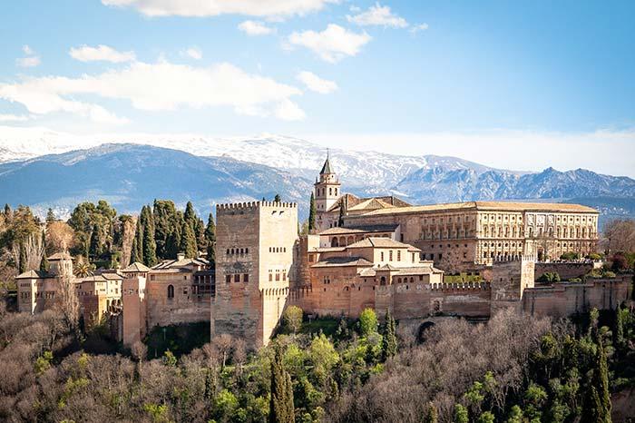 Granada, ciudades bonitas de España.