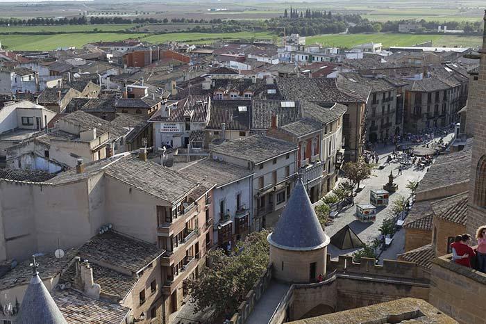 Olite, ciudades bonitas de España.