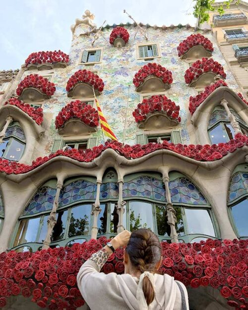 Barcelona en sant jordi