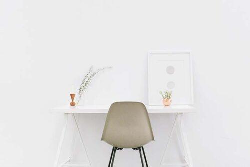 Configura una oficina en casa