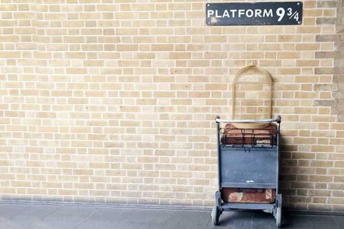 Harry Potter en Londres - plataforma 3/14
