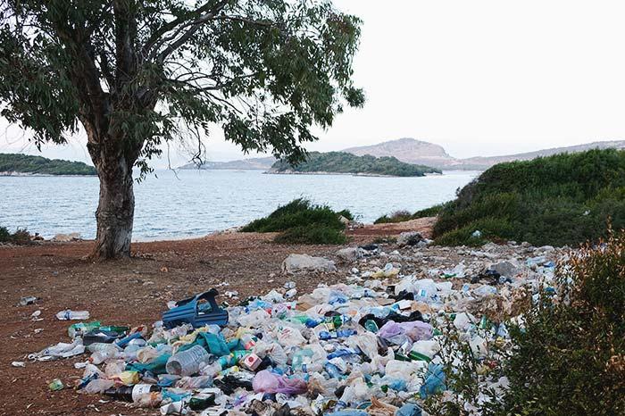 Lugares llenos de basura