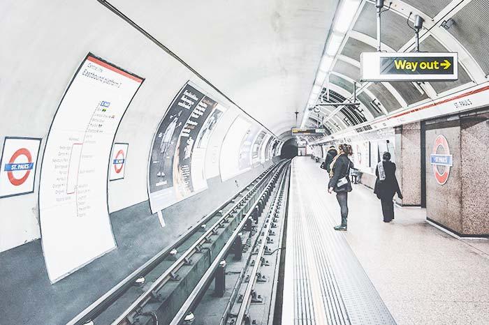 Metro en Londres