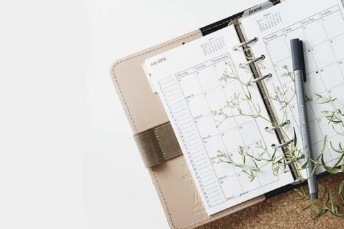Planifica eventos y trabaja desde tu casa