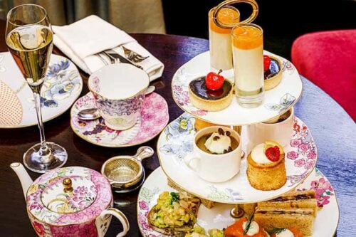 Have tea in London