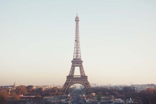 Visita la torre eiffel, paris