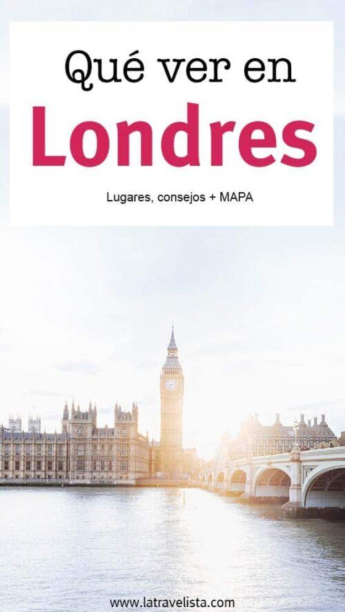 Viajar a Londres - Qué ver y qué hacer en 3 días
