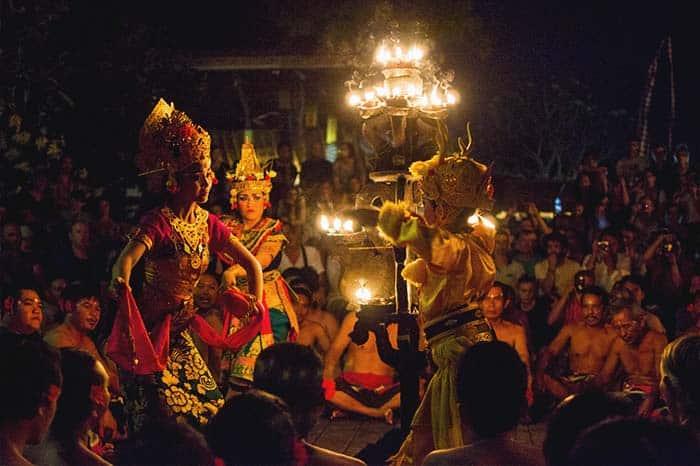 Danza teka Ubud, Bali